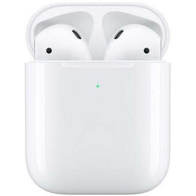 Наушники Apple AirPods 2 (беспроводная зарядка чехла) - фото 21156