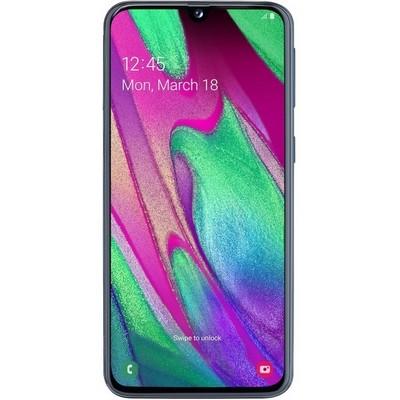 Samsung Galaxy A40 (2019) 64Gb Black RU - фото 20551