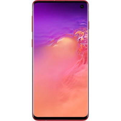 Смартфон Samsung Galaxy S10 8/128GB Гранат - фото 20925