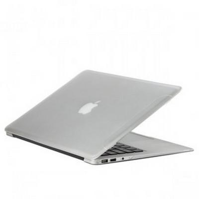 Защитный чехол-накладка для Apple MacBook Air 13 2017г матовая прозрачная - фото 8359
