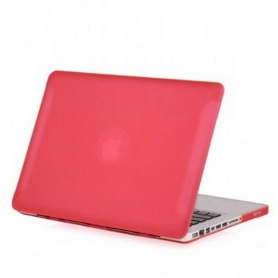 Защитный чехол-накладка BTA-Workshop для MacBook Pro 13 матовая розовая - фото 27079