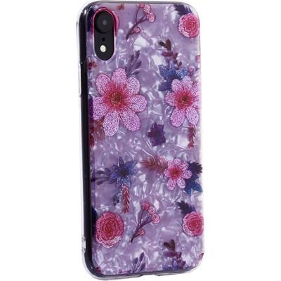 """Чехол-накладка пластиковый MItrifON для iPhone XR (6.1"""") с силиконовыми бортами Розовый вид №4 - фото 23600"""