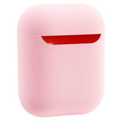 Чехол силиконовый COTEetCI для AirPods 2 Liquid Silicone+PP Case (CS8136-PK) Розовый - фото 24285