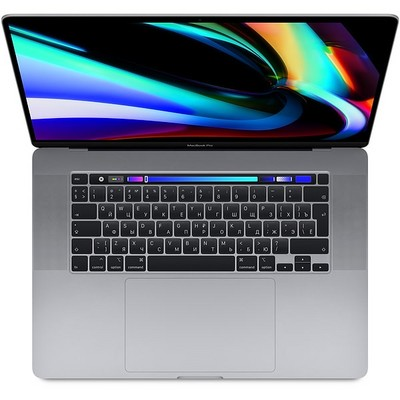 Apple MacBook Pro 16 with Retina display and Touch Bar Late 2019 (MVVK2RU, 8 ядер i9 2.3GHz/16Gb/1Tb SSD) серый космос - фото 24417