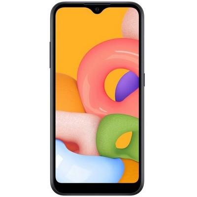 Samsung Galaxy A01 16GB Black Ru - фото 25225