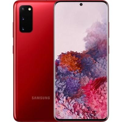 Samsung Galaxy S20 8/128GB Красный Ru - фото 25599