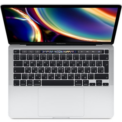 Apple MacBook Pro 13 with Retina display and Touch Bar Mid 2020 (MWP72, 4 ядра i5 2.0GHz/16Gb/512Gb SSD) Серебристый - фото 26675