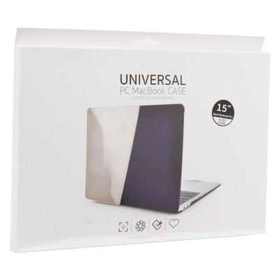 "Защитный чехол-накладка COTEetCI MB1006-TT universal PC Case для Apple MacBook New Pro 15"" (A1990, A1707) Прозрачный - фото 26823"