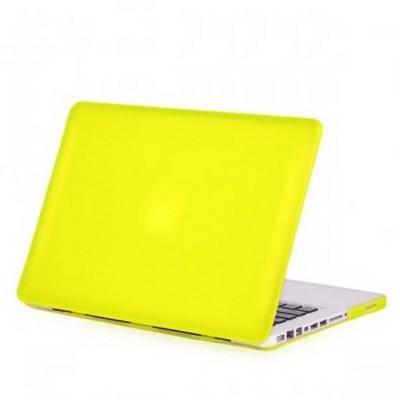 Защитный чехол-накладка BTA-Workshop для MacBook Pro 13 матовая желтая - фото 26840