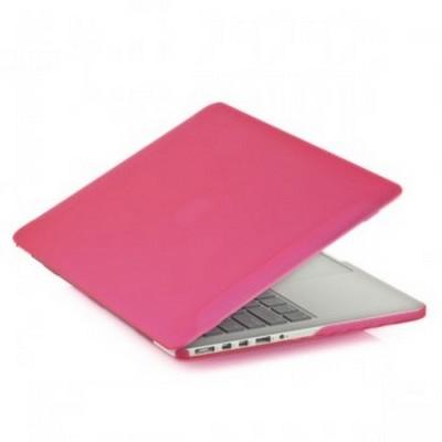 Защитный чехол-накладка BTA-Workshop для MacBook Pro Retina 13 матовая розовая - фото 26849