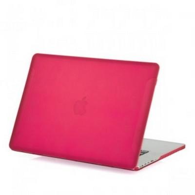 Защитный чехол-накладка BTA-Workshop для MacBook Pro Retina 15 матовая розовая - фото 26857