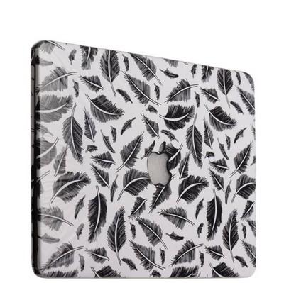 Защитный чехол-накладка BTA-Workshop для MacBook Pro 13 вид 18 (перья) - фото 26956