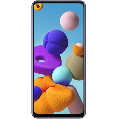 Samsung Galaxy A21s 4/64GB Синий Ru - фото 27039