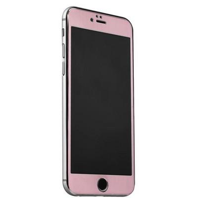 Стекло защитное&накладка пластиковая iBacks Full Screen Tempered Glass для iPhone 6s Plus/ 6 Plus (5.5) - (ip60188) Розовое - фото 36448