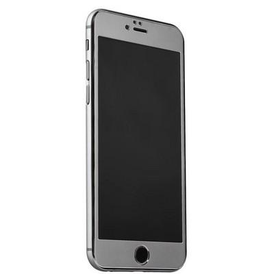Стекло защитное&накладка пластиковая iBacks Full Screen Tempered Glass для iPhone 6s Plus/ 6 Plus (5.5) - (ip60187) Темно Серый - фото 36449