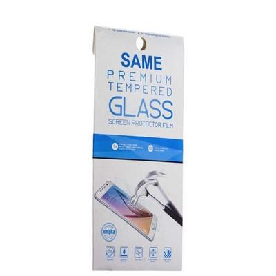 Стекло защитное для Samsung GALAXY A8 - Premium Tempered Glass 0.26mm скос кромки 2.5D - фото 36495