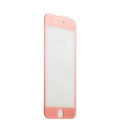 Стекло защитное 3D для iPhone 6s Plus/ 6 Plus (5.5) Rose gold - фото 36527