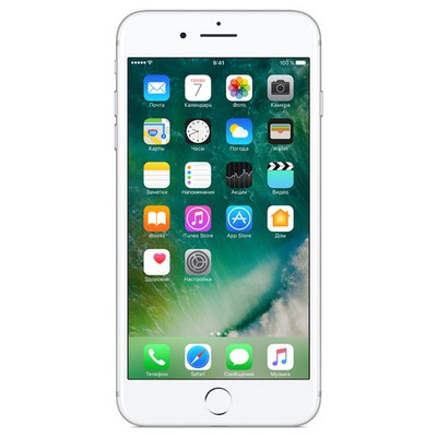 Apple iPhone 7 Plus 256Gb восстановленный Silver FN4X2RU - фото 5050