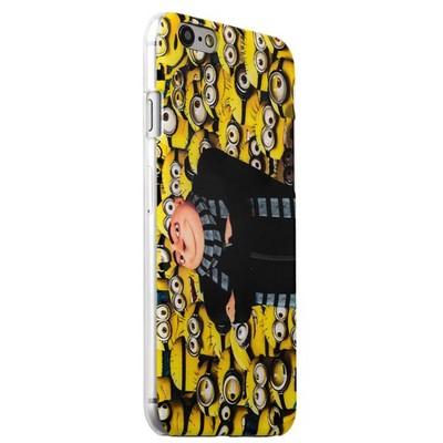 Чехол-накладка UV-print для iPhone 6s/ 6 (4.7) пластик (кино и мультики) Миньоны тип 005 - фото 18753