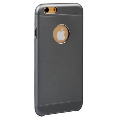 Накладка металлическая iBacks Premium Aluminium case for iPhone 6s/ 6 (4.7) - Essence (ip60021) Space Gray Темно-серый - фото 28624