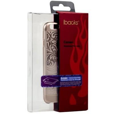 Накладка металлическая iBacks Cameo Series Aluminium Case for iPhone 6s/ 6 (4.7) - Venezia (ip60023) Gold Золото - фото 28625