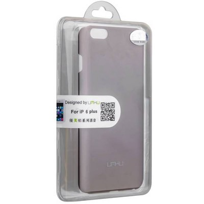 Накладка пластиковая Umku для iPhone 6s Plus/ 6 Plus (5.5) Soft-touch Черная - фото 28639
