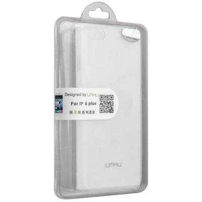 Накладка пластиковая Umku для iPhone 6s Plus/ 6 Plus (5.5) Soft-touch Белая - фото 28640