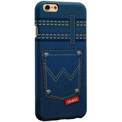 Накладка пластиковая Umku Jeans для iPhone 6s/ 6 (4.7) Soft-touch вид 5 - фото 28647