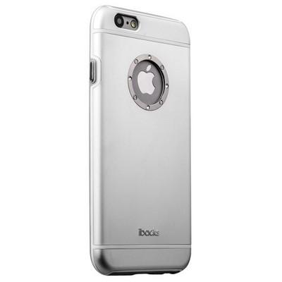 Накладка металлическая iBacks iFling Armour Aluminum Case with CrystalDiamond for iPhone 6s/ 6 (4.7) - (ip60138) Серебриста - фото 28767