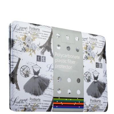 Защитный чехол-накладка BTA-Workshop для MacBook Pro Retina 13 (черный рисунок) вид 2 (открытка) - фото 27120
