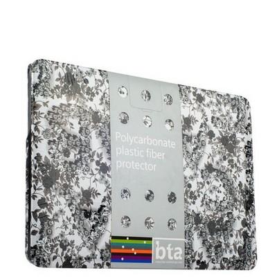 Защитный чехол-накладка BTA-Workshop для MacBook Pro 13 вид 3 (цветы) - фото 27123