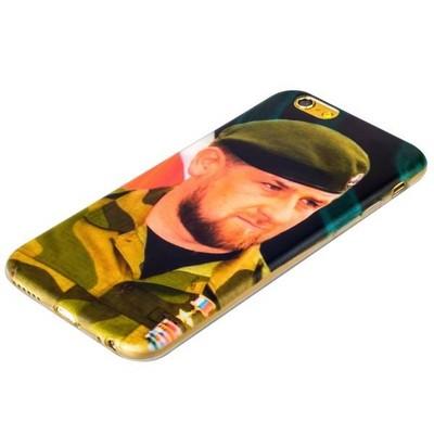 Чехол-накладка UV-print для iPhone 6s/ 6 (4.7) силикон (тренд) Рамзан Кадыров тип 002 - фото 29383