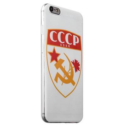 Чехол-накладка UV-print для iPhone 6s Plus/ 6 Plus (5.5) силикон (арт) СССР тип 001 - фото 29418
