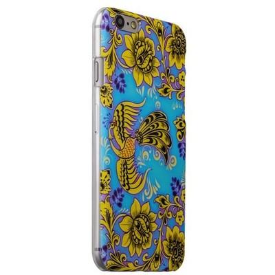 Чехол-накладка UV-print для iPhone 6s/ 6 (4.7) пластик (цветы и узоры) Хохлома тип 002 - фото 29446