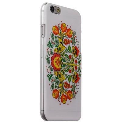 Чехол-накладка UV-print для iPhone 6s/ 6 (4.7) пластик (цветы и узоры) Хохлома тип 003 - фото 29447