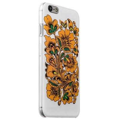 Чехол-накладка UV-print для iPhone 6s/ 6 (4.7) пластик (цветы и узоры) Хохлома тип 004 - фото 29448