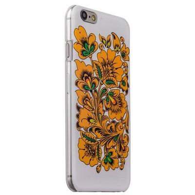 Чехол-накладка UV-print для iPhone 6s/ 6 (4.7) пластик (цветы и узоры) Хохлома тип 005 - фото 29449