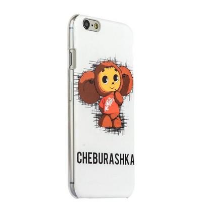 Чехол-накладка UV-print для iPhone 6s Plus/ 6 Plus (5.5) пластик (кино и мультики) Чебурашка тип 005 - фото 32137