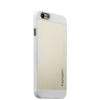 Чехол SPIGEN SGP Aluminum для iPhone 6s/ 6 (4.7) SGP10947 - Satin Silver - Серебристый - фото 29502