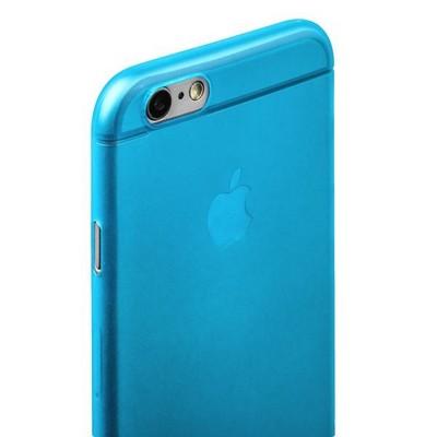 Накладка пластиковая ультра-тонкая iBacks iFling Ultra-slim PP Case для iPhone 6s/ 6 (4.7) - (ip60150) Blue Голубая - фото 29665