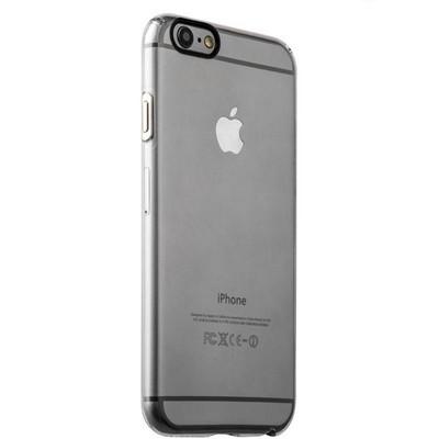 Накладка пластиковая iBacks Inherent Jacket Transparent Case для iPhone 6s Plus/ 6 Plus (5.5) - (ip60311) кнопка Silver - фото 32261
