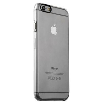 Накладка пластиковая iBacks Inherent Jacket Transparent Case для iPhone 6s Plus/ 6 Plus (5.5) - (ip60312) кнопка Gray - фото 32262