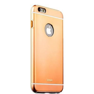 Накладка металлическая iBacks Ares Armour Aluminum Case для iPhone 6s Plus/ 6 Plus (5.5) (ip60282) Champagne Gold - фото 32230