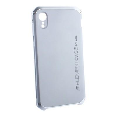 "Чехол-накладка противоударный (AL&Pl) для Apple iPhone XR (6.1"") Solace Серебристый (серебристый ободок) - фото 29842"