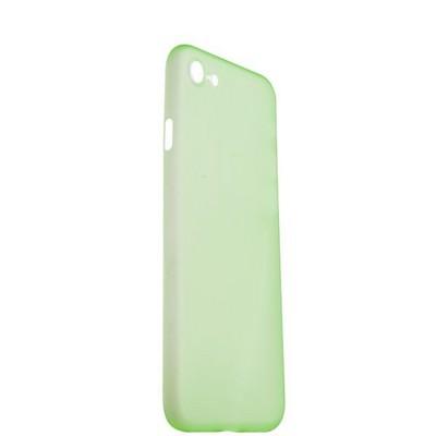 Чехол-накладка супертонкая для iPhone SE (2020г.)/ 8/ 7 (4.7) 0.3mm пластик в техпаке Салатовый матовый - фото 29908