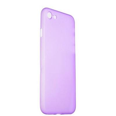 Чехол-накладка супертонкая для iPhone SE (2020г.)/ 8/ 7 (4.7) 0.3mm пластик в техпаке Сиреневый матовый - фото 29909