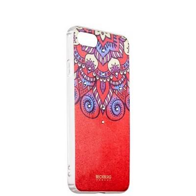 Накладка силиконовая Beckberg Golden Faith series для iPhone SE (2020г.)/ 8/ 7 (4.7) со стразами Swarovski вид 12 - фото 29941