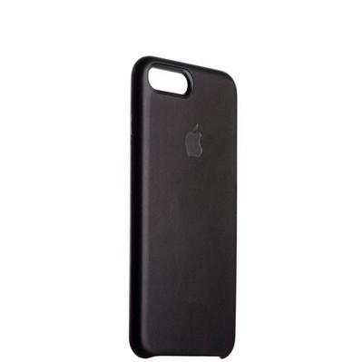 "Чехол-накладка кожаная Leather Case для iPhone 8 Plus/ 7 Plus (5.5"") Black - Черный - фото 29953"