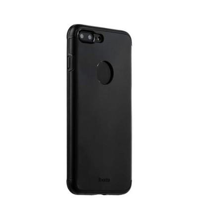 Накладка металлическая iBacks Premium Aluminium case для iPhone 8 Plus/ 7 Plus (5.5) - Essence (ip60359) Black Черная - фото 30015