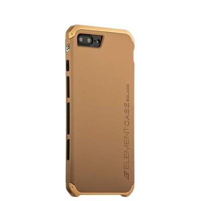 Чехол-накладка противоударный (AL&Pl) для Apple iPhone 8 Plus/ 7 Plus (5.5) Solace Золотистый (золотистый ободок) - фото 30024